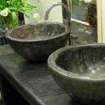 Waschbecken aus Tadelakt