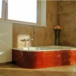 Badewannenumrandung aus Tadelakt