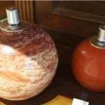 Öllampen aus Tadelakt